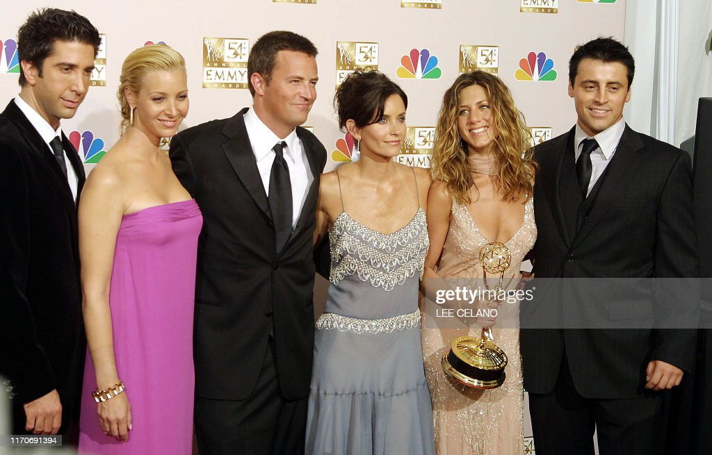 US-EMMYS-CAST OF FRIENDS-OUTSTANDING COMEDY : Nachrichtenfoto