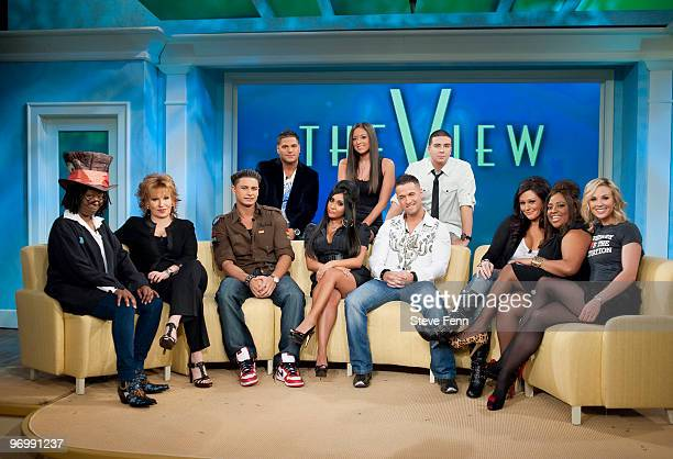 THE VIEW Cast members from MTV's 'The Jersey Shore' were guests on 'THE VIEW' Tuesday Feb 23 2010 airing on the ABC Television Network The cohosts...