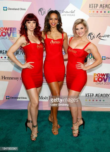 """Cast members from the """"Fantasy"""" show attend the 25th annual Keep Memory Alive """"Power of Love Gala"""" benefit for the Cleveland Clinic Lou Ruvo Center..."""