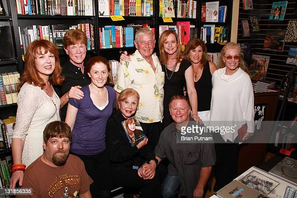 Cast members from 'The Waltons' Lee Purcell David W Harper Jon Walmsley Kami Cotler Michael Learned Ralph Waite Mary McDonough Eric Scott Judy Norton...