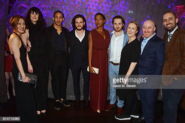 Cast members Gabby Wong, Danielle Flett, Brian Gilligan, Craig Stein, Kit Harington, Jade Anouka, Garmon Rhys, Jenna Russell, Forbes Masson and Tom...