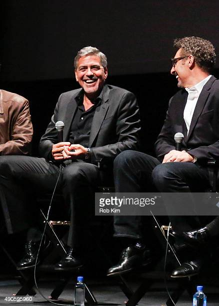 Cast members George Clooney and John Turturro attend the QA for O Brother Where Art Thou 15th Anniversary Screening during 53rd New York Film...
