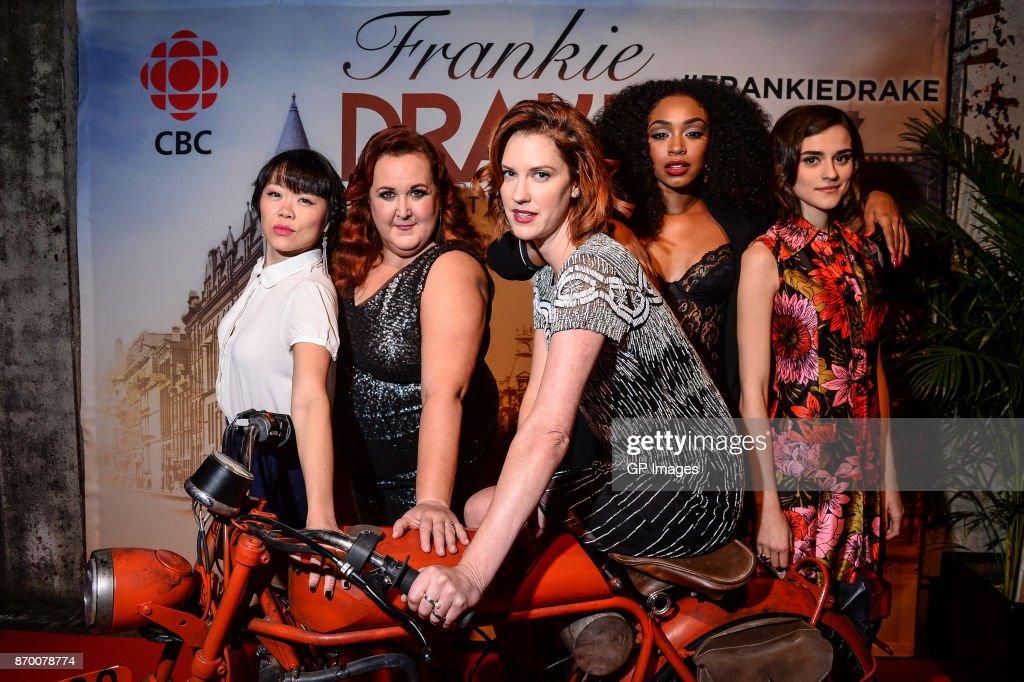 "CBC Hosts The Launch Of ""Frankie Drake Mysteries"" : Nachrichtenfoto"
