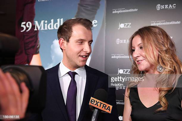 Cast members Greg Ammon and Alexa Ammon attend 59 Middle Lane New York Benefit Screening at Jazz at Lincoln Center on November 15 2012 in New York...