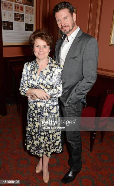 Cast members Imelda Staunton and Lloyd Owen attend the press night performance of Good People at the Noel Coward Theatre on April 15 2014 in London...
