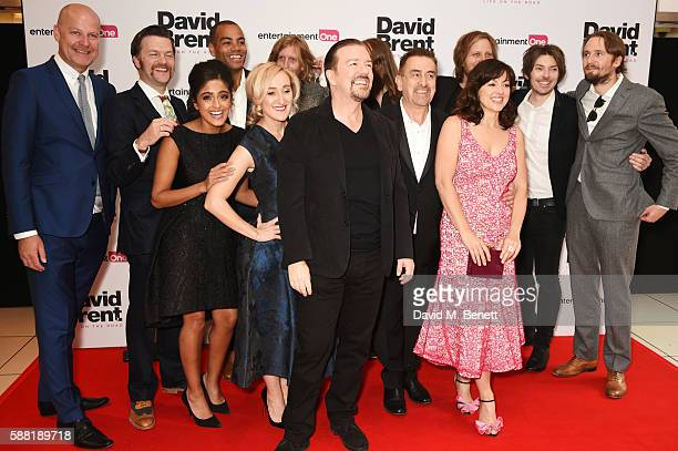 Cast members including Tom Bennett, Mandeep Dhillon, Ben Bailey Smith aka Doc Brown, Abbie Murphy, Andy Burrows, Ricky Gervais, Michael Clarke,...