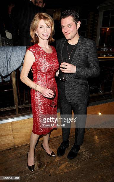 Cast members Jane Asher and Mathew Horne attend an after party following the press night performance of 'Charley's Aunt' at Menier Chocolate Factory...