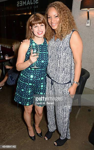 Cast members Jemima Rooper and Angela Griffin attend an after party celebrating the press night performance of 'Breeders' at the St James Theatre on...