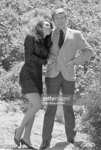 Cast members: Jennifer Bishop and Buck Owens . Image dated April 25, 1969.