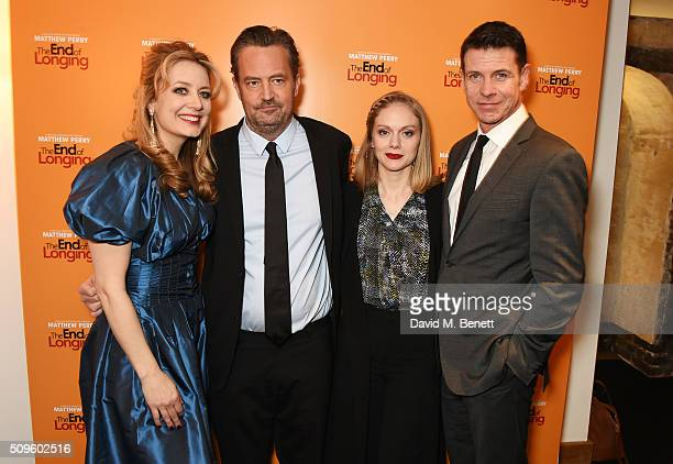 Cast members Jennifer Mudge Matthew Perry Christina Cole and Lloyd Owen attend an after party celebrating the World Premiere of 'The End Of Longing'...