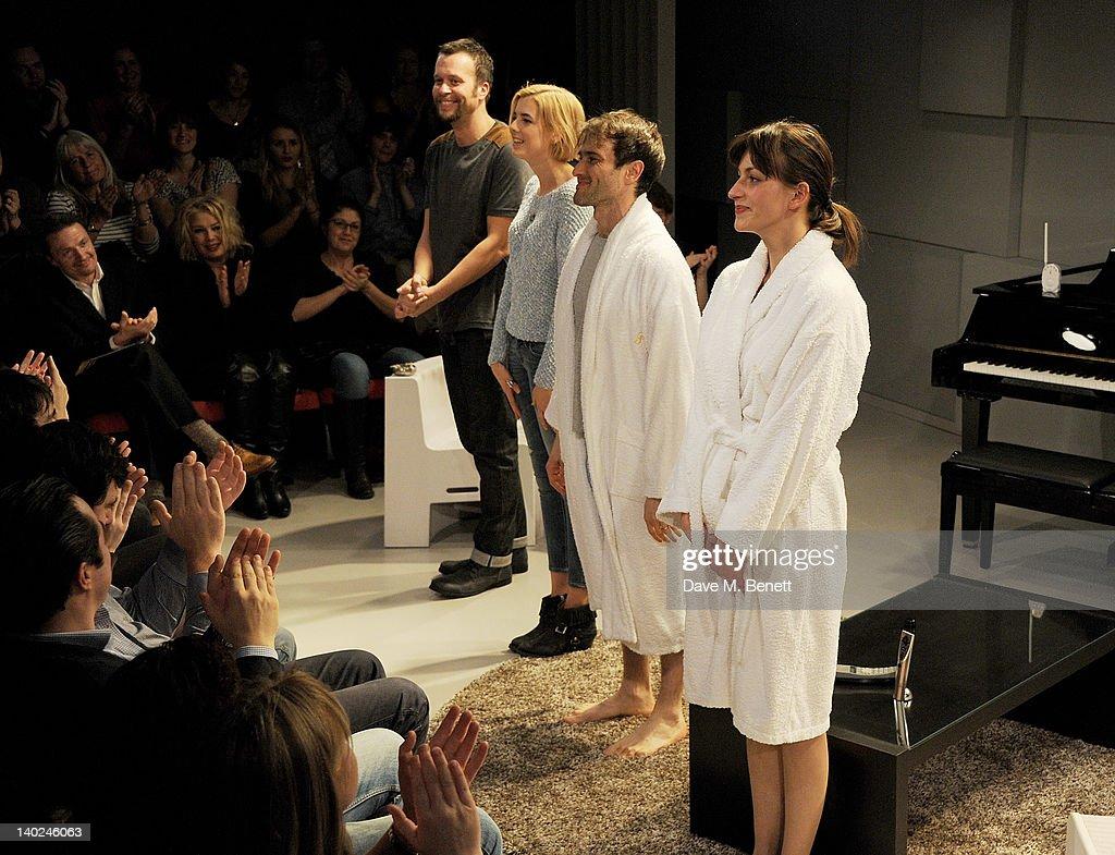 The Leisure Society - Press Night - Curtain Call : News Photo