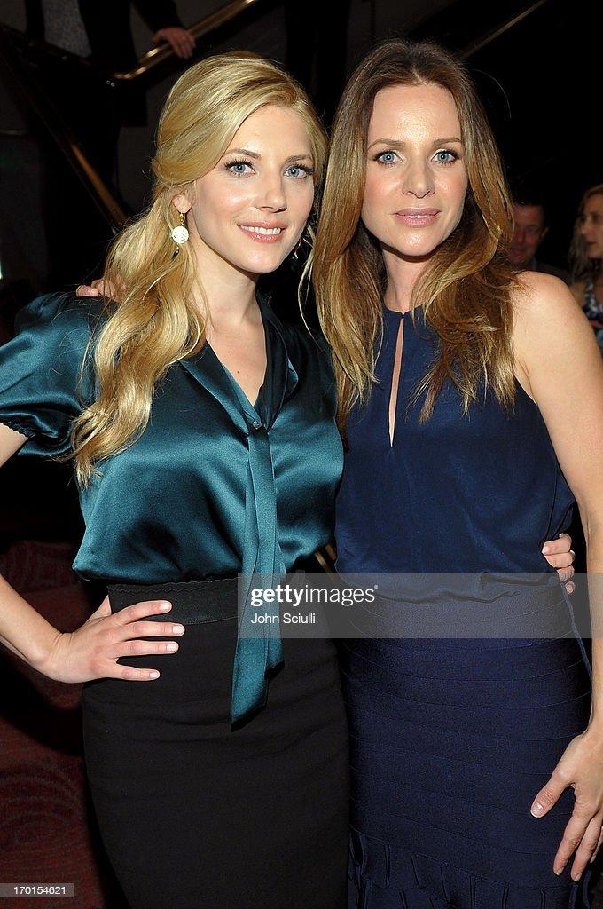 Cast members Katheryn Winnick and Jessalyn Gilsig attend the