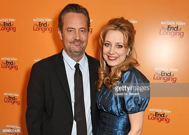 Cast members Matthew Perry and Jennifer Mudge attend an after party celebrating the World Premiere of 'The End Of Longing' written by and starring...