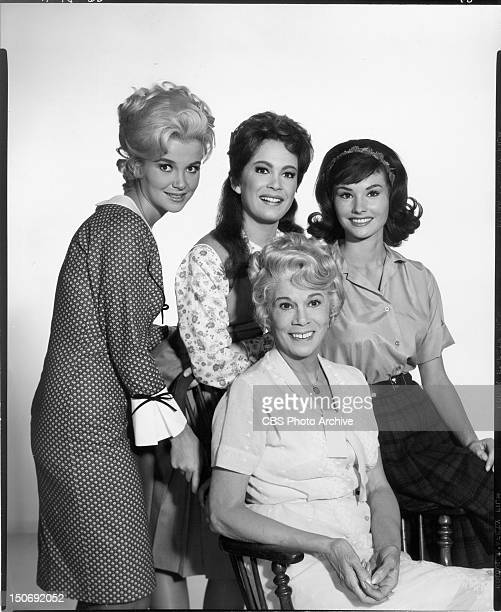 JUNCTION cast members Meredith MacRae as Billie Jo Bradley Linda Kaye as Betty Jo Bea Benaderet and Lori Sanders as Bobbie Jo Image Dated November 15...