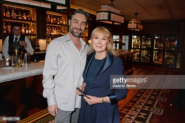 Cast members Nathaniel Parker and Susan Hampshire attend the press night after party for 'An Ideal Husband' at the Smith Wollensky on May 3 2018 in...