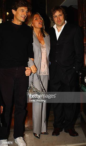 Cast members Nigel Havers Patsy Kensit and Ardal O'Hanlon arrive for the openingnight performance of the play See You Next Tuesday at the Albery...