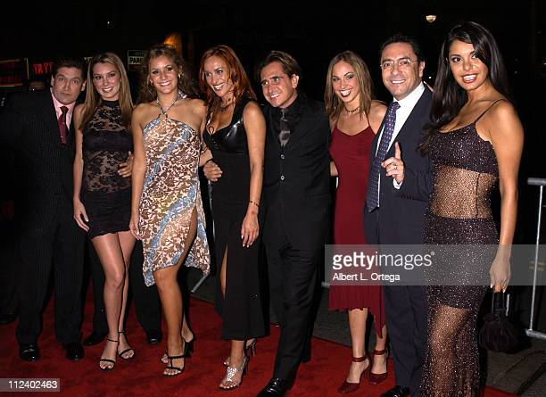 Cast members of 'Cuanto Cuesta El Show' during 2002 Ritmo Latino Music Awards El Premio de la Gente at Kodak Theatre in Hollywood California United...