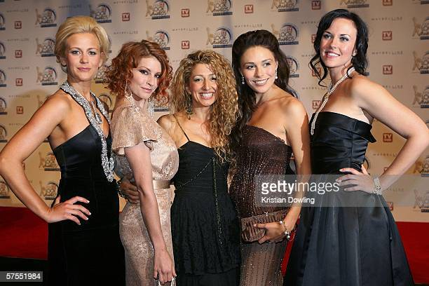 Cast members of McLeod's Daughters arrive at the 48th Annual TV Week Logie Awards at the Crown Entertainment Complex May 7 2006 in Melbourne Australia