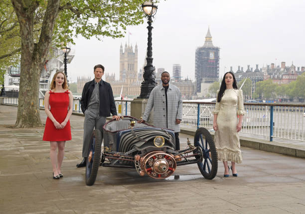 """GBR: Launch Of New Sky Atlantic Drama """"The Nevers"""" On London's South Bank - Photocall"""