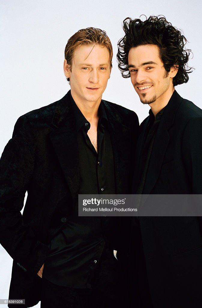 Actors Benoit Magimel and Romain Duris : Photo d'actualité