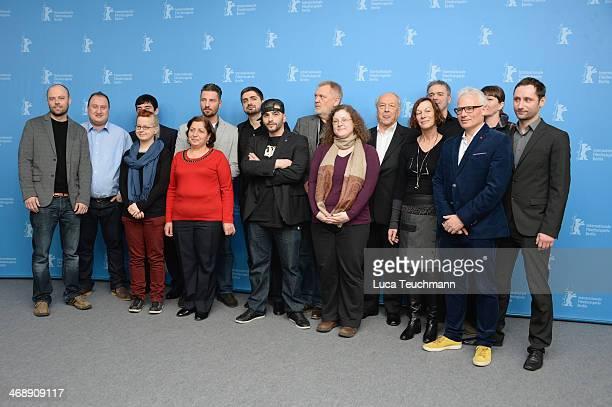 Cast members of the film inluding director Umut Dag , actor Murathan Muslu , actor Alechan Tagaev , producer Michael Katz , screenwriter Petra...