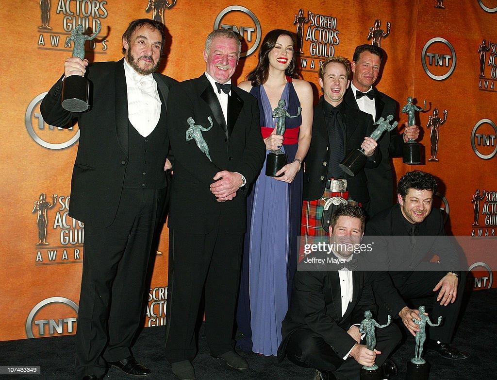 10th Annual Screen Actors Guild Awards - Press Room : News Photo
