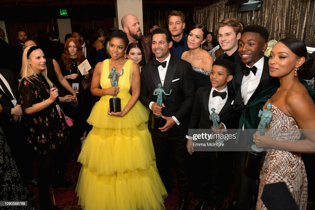 Cast members of 'This Is Us' Susan Kelechi Watson, Hannah