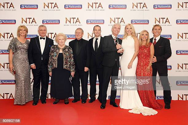 Cast members of This Morning accepted the award for Live Magazine during the 21st National Television Awards at The O2 Arena on January 20 2016 in...