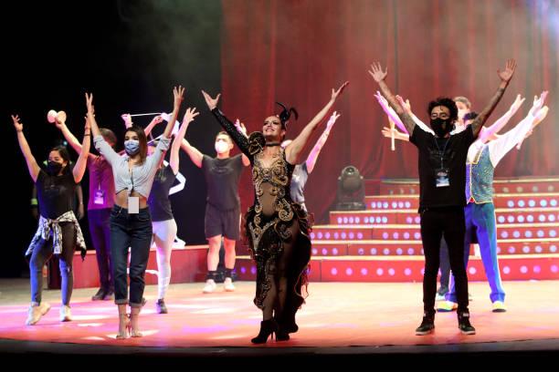 MEX: Atayde Circus Practice Prior Anniversary