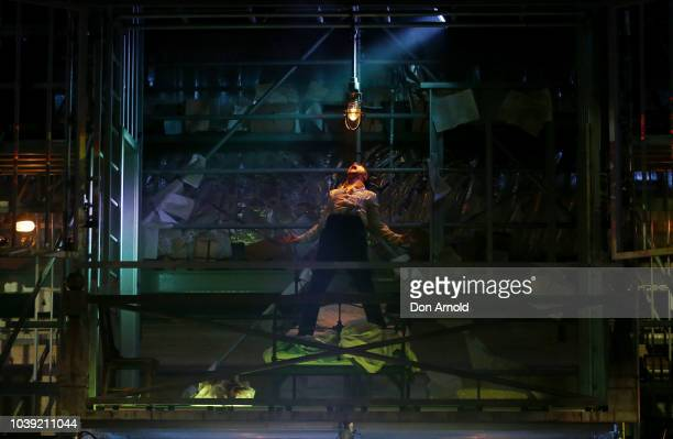 Cast members perform during the final dress rehearsal Metamorphosis at The Opera Centre on September 24 2018 in Sydney Australia
