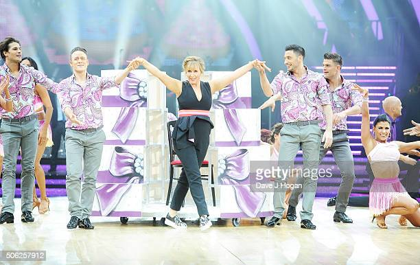 Cast members perform during the Strictly Come Dancing Live Tour rehearsals Strictly Come Dancing Live Tour opens tomorrow 22nd January at the...