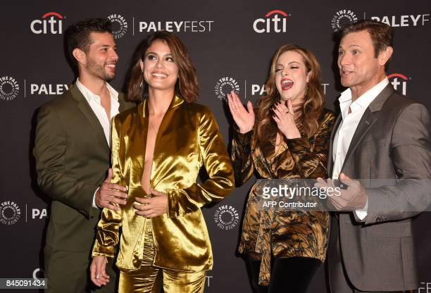 Cast members Rafael de la Fuente, Nathalie Kelley, Elizabeth Gillies and Grant Show attends the 11th annual PaleyFest Fall TV Previews for...