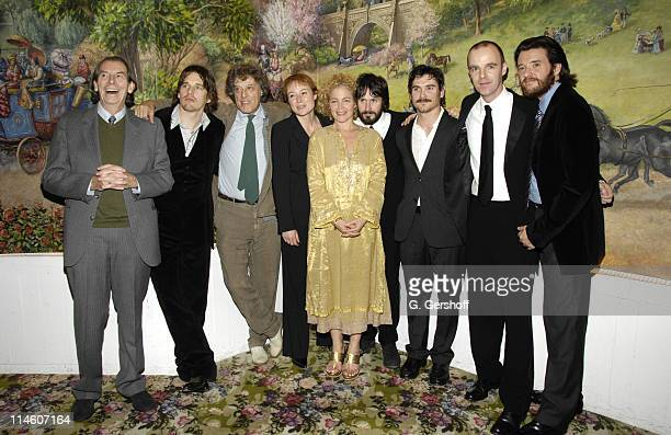 Cast members Richard Easton Ethan Hawke Tom Stoppard playwright cast members Jennifer Ehle Amy Irving Josh Hamilton Billy Crudup Brian F O'Byrne and...