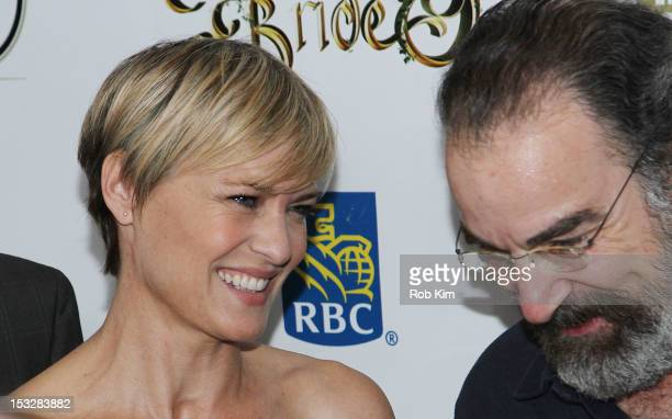 """Cast members Robin Wright and Mandy Patinkin attend the 25th Anniversary Screening & Cast Reunion Of """"The Princess Bride"""" During The 50th New York..."""