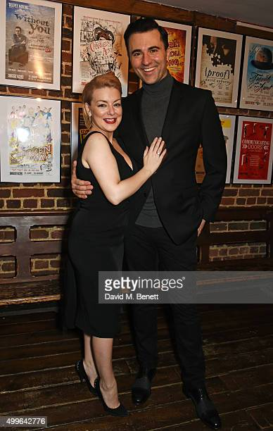 Cast members Sheridan Smith and Darius Campbell attend the press night after party for 'Funny Girl' at the Menier Chocolate Factory on December 2...