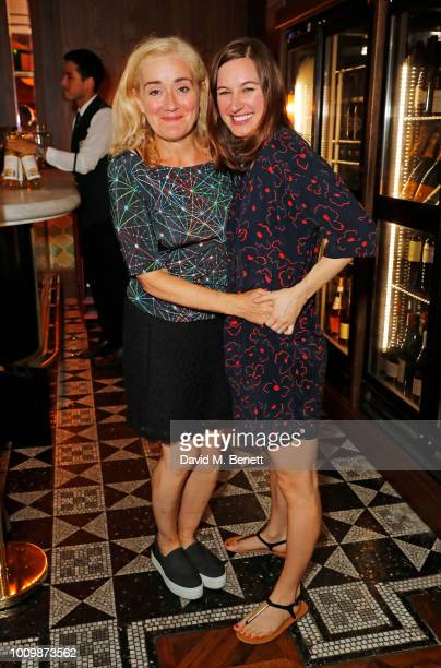 Cast members Sophie Thompson and Pippa Nixon attend the press night after party for 'The Importance Of Being Earnest' at Smith Wollensky on August 2...
