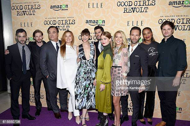 Cast members Teddy Bergman Hunter Parrish Jim Belushi Grace Gummer Erin Darke Daniel Eric Gold Genevive Angelson Anna Camp Chris Diamantopoulos Joy...