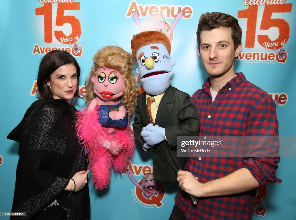 "NY: ""Avenue Q"" Celebrates World Puppetry Day"