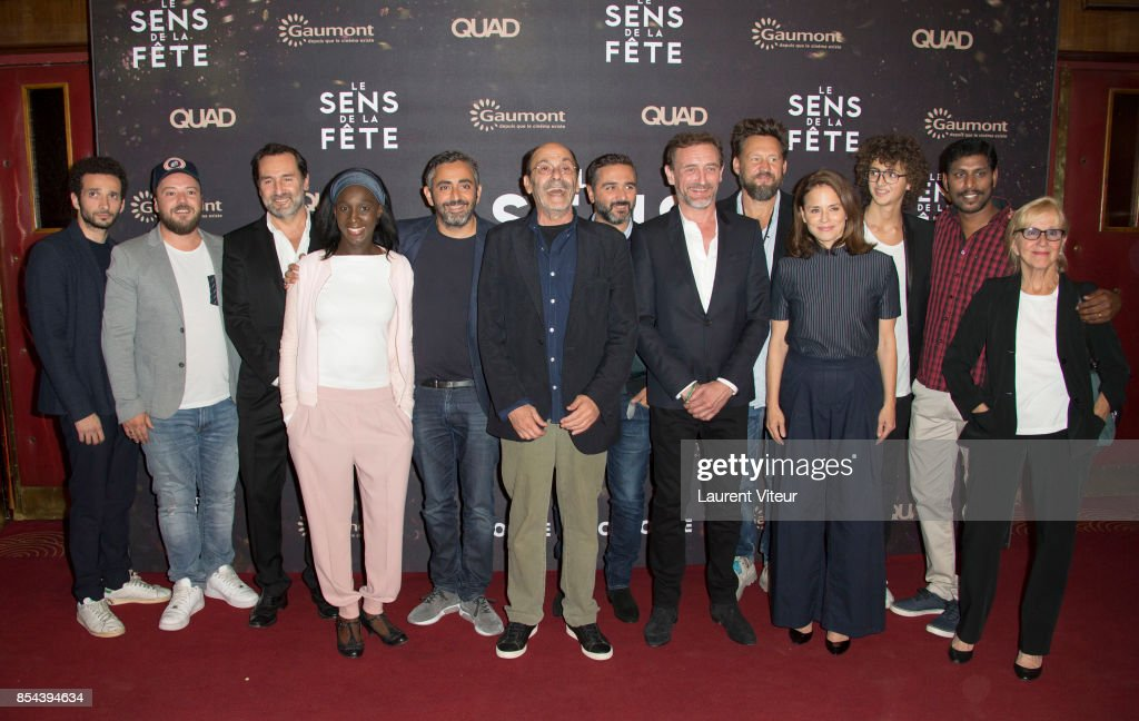 """Le Sens De La Fete"" Paris Premiere At Le Grand Rex"
