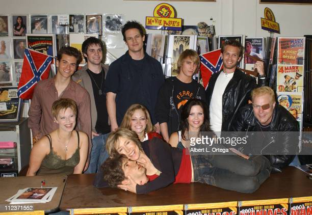 Cast of '2001 Maniacs' during '2001 Maniacs' DVD Release Party and Cast Signing at Hollywood Book Poster March 29 2006 at Hollywood Book Poster in...