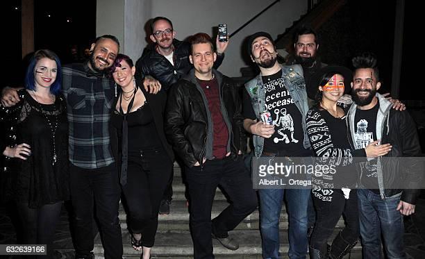 Cast of Allstars Keaghlan Ashley Gage Hubbard Rachael Wagner Ben Ploughman Adam Milicevic Cig Neutron George Troester Cat Paschen and Niko Gonzalez...