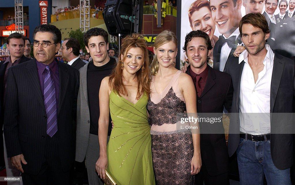 American Wedding Cast.Cast Of American Wedding Eugene Levy Jason Biggs Alyson Hannigan