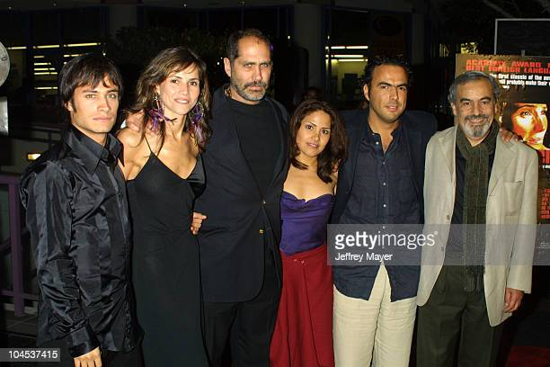 Cast of Amores Perros during 'Amores Perros' Premiere at Galaxy Theatre in Hollywood California United States