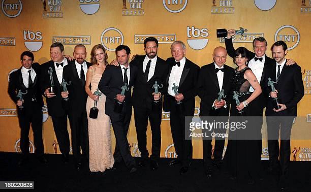 Cast of 'Argo' Actor Chris Messina actor John Goodman actor Bryan Cranston actor Kerry Bishe actor Rory Cochrane actor/director Ben Affleck actor...