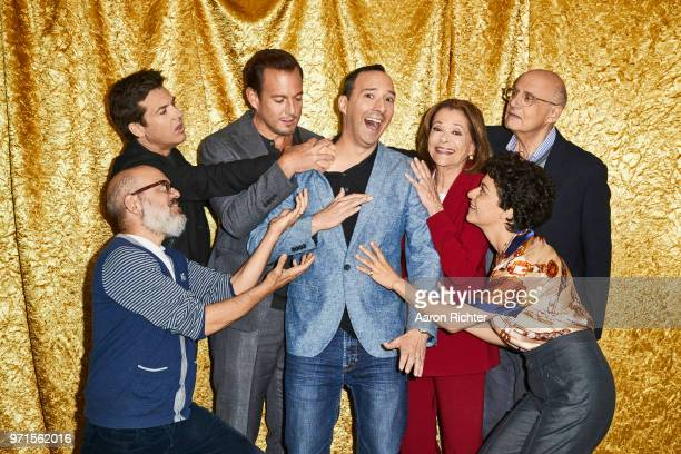 Cast of 'Arrested Development' are photographed for New York Times on May 22 2018 in New York City PUBLISHED IMAGE