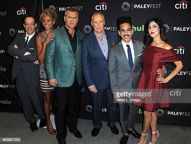 Cast of Ash Vs Evil Dead at the The Paley Center For Media's PaleyFest 2016 Fall TV Preview STARZ's Ash Vs Evil Dead held at The Paley Center for...