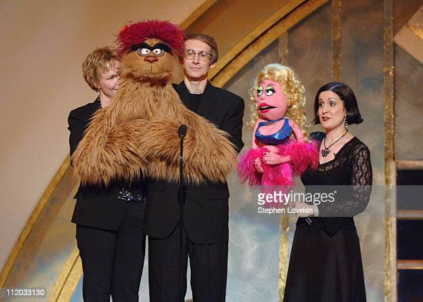 Cast of Avenue Q during 59th Annual Tony Awards Show at Radio City Music Hall in New York City New York United States