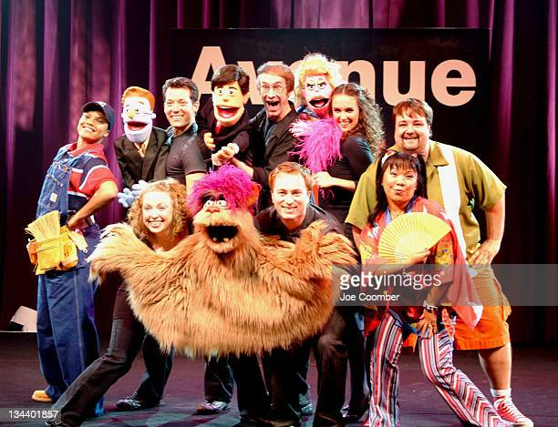 Cast of Avenue Q during The Cast of Avenue Q Arrives at the Wynn Las Vegas August 16 2005 at Wynn Las Vegas in Las Vegas Nevada United States
