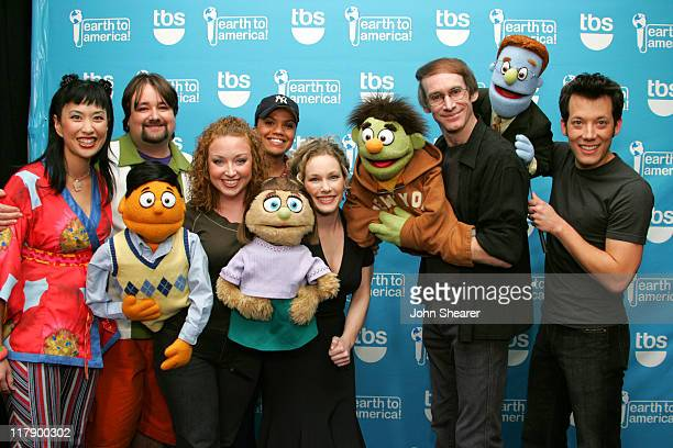 Cast of Avenue Q to America which airs on TBS Sunday November 20 at 8 pm 10427JS_60009JPG