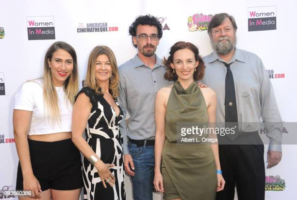 Cast of Crazy Deany arrive for Etheria Film Night held at The Egyptian Theatre on June 3 2017 in Los Angeles California